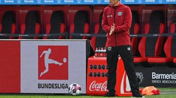 Sinkgraven für Bayer-Trainer Wolf wieder eine Option