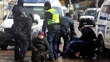 20 Festnahmen bei Protesten gegen Corona-Maßnahmen in Finnland