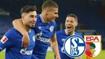 Fußball-Bundesliga: Schalke besiegt Augsburg mit 1:0