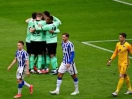 Hertha BSC: Chaos statt Fußball