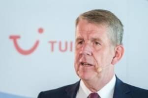 Steigende Buchungszahlen: Tui-Chef: Weiter gute Sommer-Signale