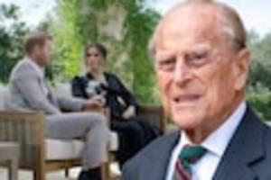 """kritik gerechtfertigt? - freund verrät: prinz philip hielt enkel harrys skandal-interview für """"wahnsinn"""""""
