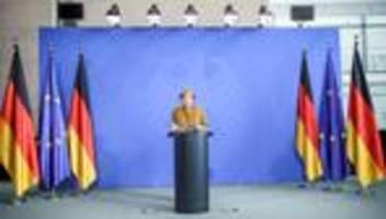 Angela Merkel: Kanzlerin nennt bundesweite Notbremse überfällig