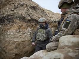 Blanke Nerven in der Ostukraine: Deshalb redet Selenskyj nicht mit Putin