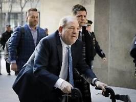 Klage in Los Angeles eingereicht: Droht Weinstein ein weiterer Prozess?