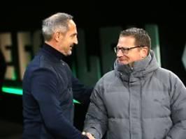 Klubs bestätigen Wechsel: Frankfurts Trainer Hütter geht nach Gladbach