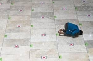Pandemie: Ramadan während Corona: Gebete mit Mindestabstand
