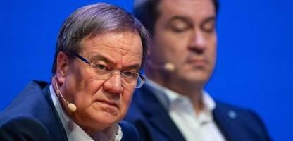 Machtkampf in der Union: Armin Laschet warnt vor «One-Man-Show»