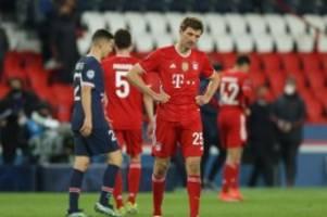 Champions League: Sieg reicht nicht: Bayern-K.o. gegen Paris Saint-Germain