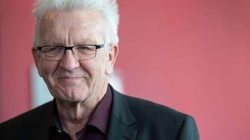 kretschmann über kanzlerkandidatur: spannend ist es schon