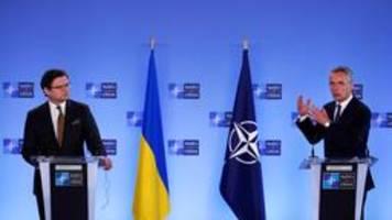 konflikt mit russland: stehen an der seite der ukraine