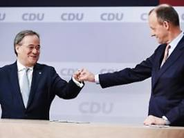 Flammender Appell für Laschet: Merz fleht Söder an, Union nicht zu schaden