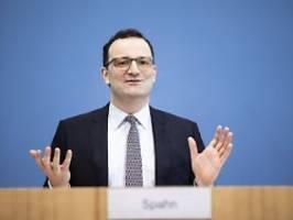 Hauptsache kein Streit mit CSU: Spahn vermeidet Bekenntnis zu Laschet