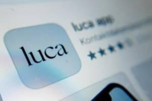 Gesundheit: Berliner Senat will trotz Kritik an Luca-App festhalten