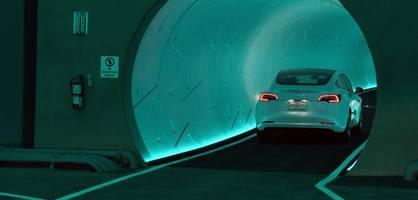 diese tunnel-teslas sind langsamer als das model t von 1908