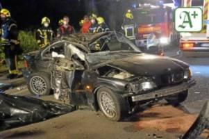 gerichtsprozess: nach tod der beifahrerin: unfallfahrer wird verwarnt