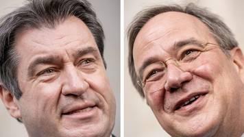 Entscheidung: Laschet und Söder wollen K-Frage in dieser Woche klären