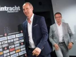 Abschied von Trainer und Sportvorstand: Herkulesaufgabe für die Eintracht