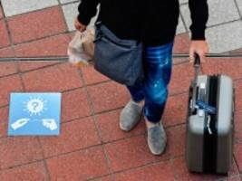 reiserecht: koffer packen und schnell ins testzentrum