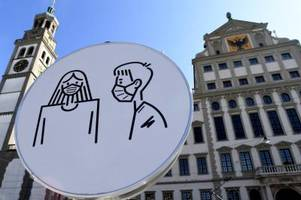 Corona in Augsburg: Drei weitere Todesfälle, Inzidenz jetzt bei 246,1