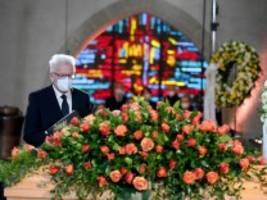 trauerfeier: kretschmann würdigt kirchenkritiker hans küng