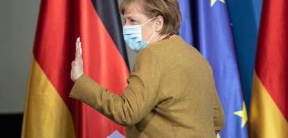 Bundeskanzlerin Angela Merkel mit AstraZeneca geimpft