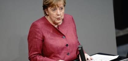 Corona - Angela Merkel zu Notbremse: »Das Virus verzeiht kein Zögern«