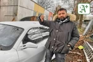 hamburger limousinen-verleih: zulassungsbetrug: edel-ferrari wird zur schrottkarre