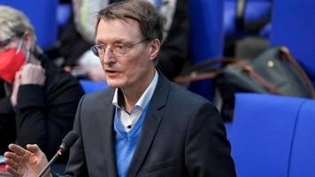corona-news: lauterbach dringt auf schnelle umsetzung der ausgangsbeschränkungen