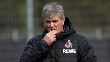 Trainer 1. FC Köln: Funkel lehnte Angebote aus der Türkei und China ab