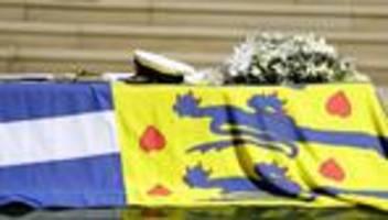 Großbritannien: Trauerfeier für Prinz Philip