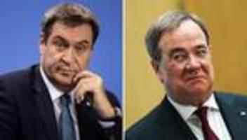 Kanzlerkandidat der Union: Führende CDU-Politiker verlieren Geduld mit Laschet und Söder