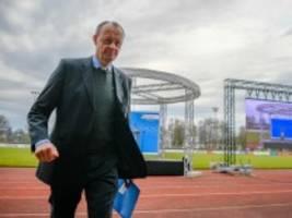 Merz nach Kampfabstimmung im Sauerland: Es tut ganz gut, mal wieder eine Abstimmung zu gewinnen