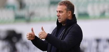 Bundesliga: Der FC Bayern München siegt in Wolfsburg - und verliert Trainer Hansi Flick
