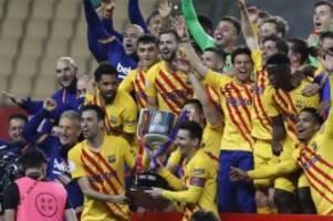 Spanien: FC Barcelona gewinnt dank Messi Copa del Rey