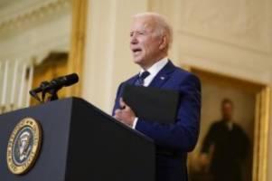 USA: Biden erstmals als Präsident beim Golfen