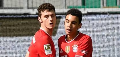 Youngster Musiala führt Bayern zum Sieg in Wolfsburg