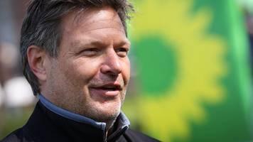 Grünen-Chef Habeck will Bundestags-Direktmandat im Norden