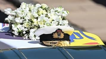 monarchie: die royals nehmen abschied von prinz philip