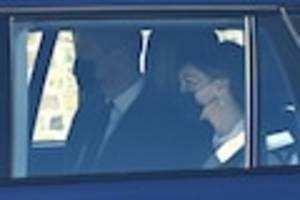 Beerdigung von Prinz Philip - Erste Trauergäste in Windsor eingetroffen: Kate und William leisten Queen Beistand