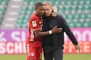Reaktionen zum Bayern-Hammer - Als Alaba ihn in den Arm nimmt, kämpft Flick mit den Tränen