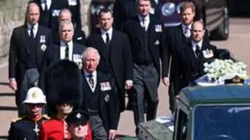Prinz Philip beigesetzt: Würdevoller Abschied im kleinen Kreis