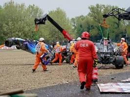 Willst du uns beide umbringen?: Mega-Crash lässt Bottas und Russell wüten