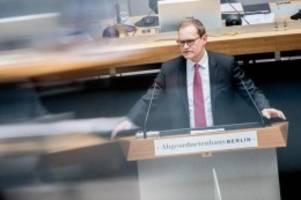 Urteile: Mietendeckel-Aus: CDU fordert Regierungserklärung von Müller