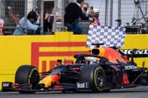 Formel 1: Formel 1: Verstappen gewinnt Imola-Chaos - Vettel mit Defekt