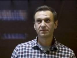 Russland: Ärzte bangen um das Leben von Alexej Nawalny