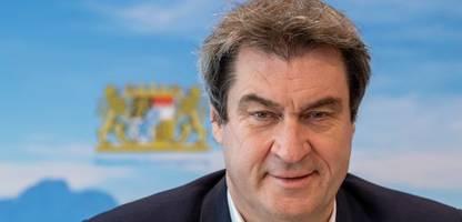 Markus Söder: CSU-Chef offenbar in Berlin gelandet