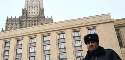 Russland droht Tschechien nach Ausweisung von Diplomaten mit »Vergeltung«