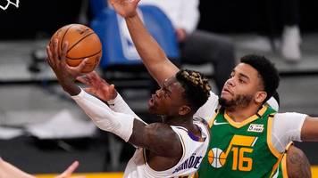 Basketball: Schröder führt Lakers zum Sieg gegen NBA-Spitzenreiter Utah