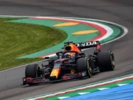 Formel 1 in Imola: Verstappen siegt in turbulentem Rennen vor Hamilton